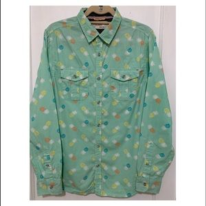 Great for Summer,  Free Planet cotton shirt.